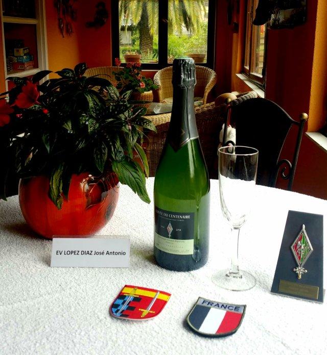 Champagne de la 131ème promotion ORSEM Ltn. Henri Tourtel