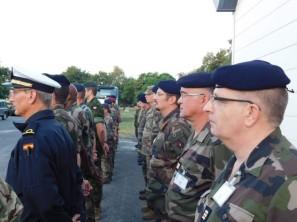 En formación en Saumur